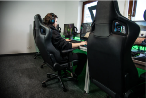 size of the gaming chair